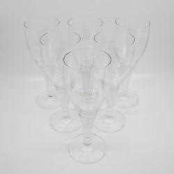 "Pokal Glas ""Rubin"" 6 Stück..."